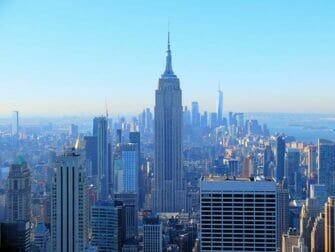 New York busstur og severdighet pakketilbud - Empire State