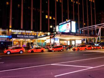 Madison Square Garden i New York - Billboard