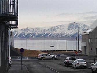 Stop-over på Island på vei til New York - Utsikt fra Reykjavik