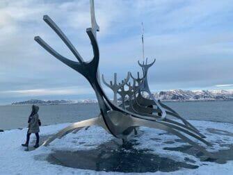 Stop-over på Island på vei til New York - Solfar