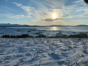 Stop-over på Island på vei til New York