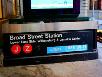 Wi-Fi i New York - Wi-Fi ved 5th Avenue Station