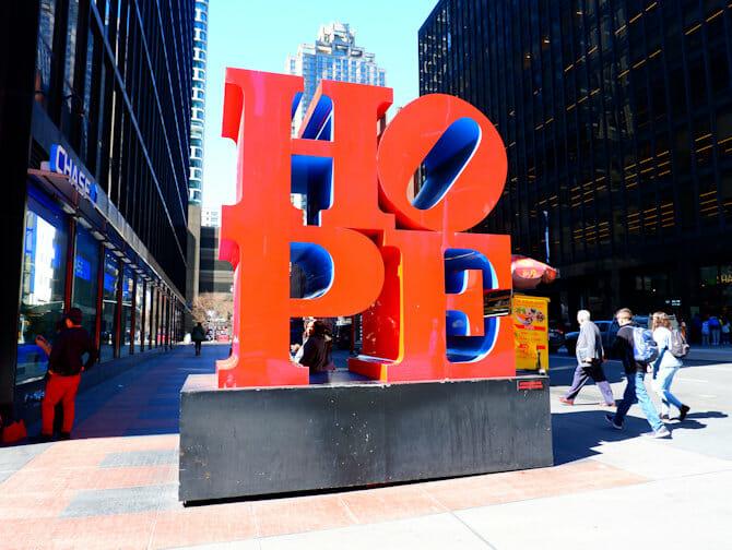Bo og jobbe i New York