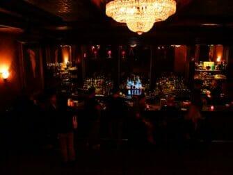 Guidet tur til hemmelige (speakeasy) barer i New York - Cocktail bar