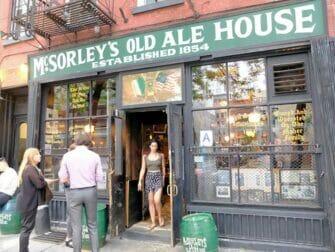 Guidet tur til hemmelige (speakeasy) barer i New York - McSorleys