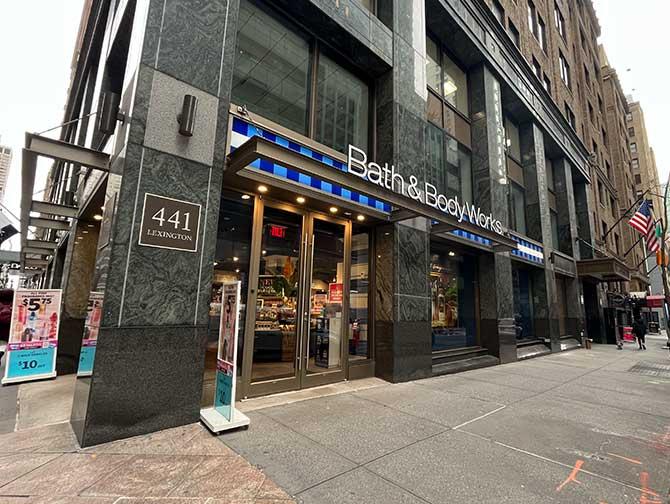 Sminke i New York - Bath and Body Works