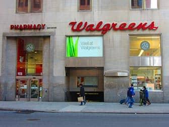 Sminke i New York - Walgreens