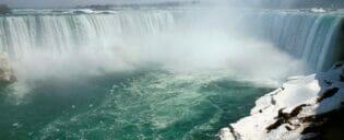 New York til Niagara Falls dagstur med privatfly