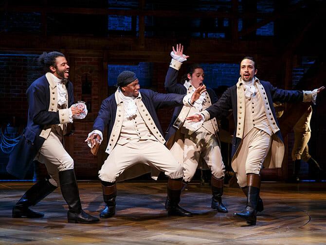 Hamilton på Broadway tickets - Et hiphop show