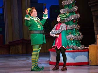 Elf the Christmas Musical Tickets - Buddy forklarer