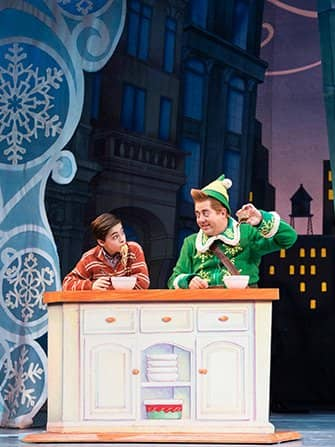 Elf the Christmas Musical Tickets - Middag