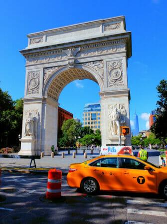 Guidet sykkeltur i Manhattan - Washington Square Park