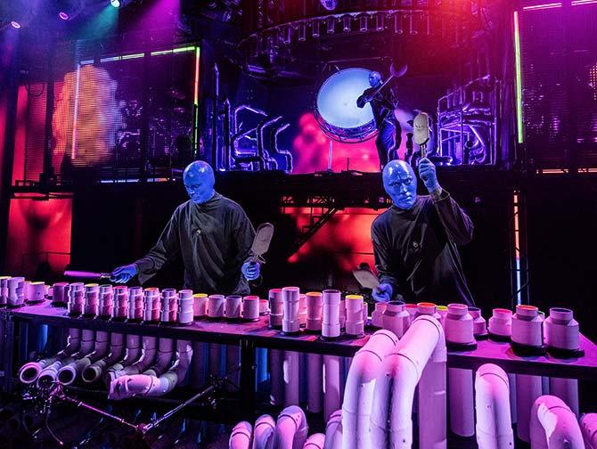 Blue Man Group i New York tickets - På scenen