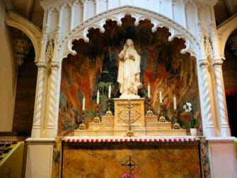 St. Patrick's Cathedral i New York - Evangelisten Johannes