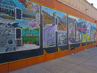 Guidet tur til Brooklyn, Queens og The Bronx - Bronx Street Art