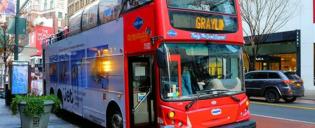 Gray Line Hop-on-hop-off-buss i New York