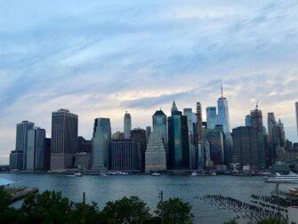 New York Night Tour - Skyline sett fra Brooklyn