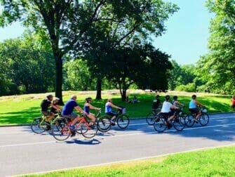 Leie sykkel i New York - Sykkeltur i Central Park