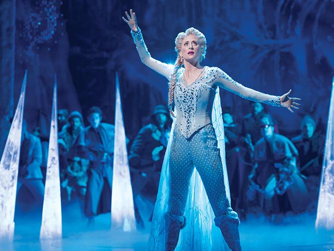 Frozen Broadway Tickets - Elsa