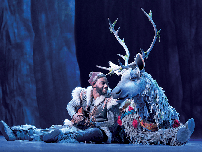Frozen Broadway Tickets - Kristoff og Sven