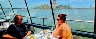 Bateaux cruise med lunsj i New York