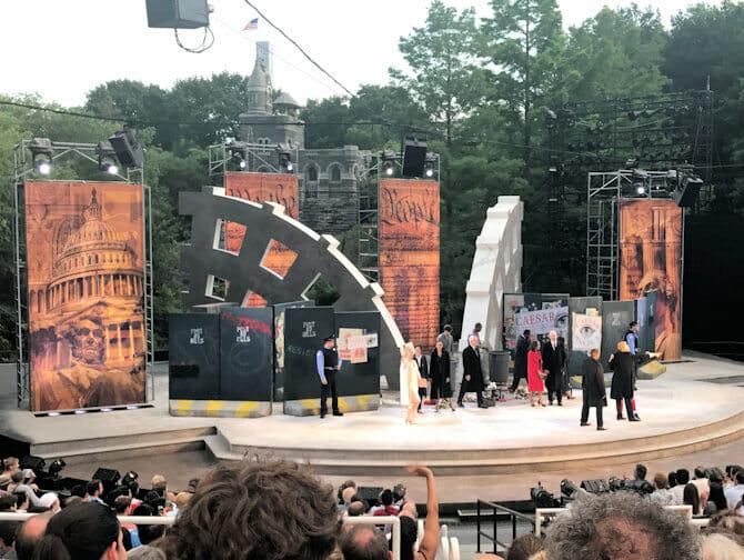 Shakespeare in the Park in New York - Publikum