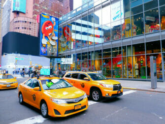 Theater District i New York - M&M Store