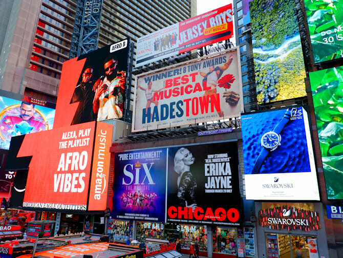 Theater District i New York