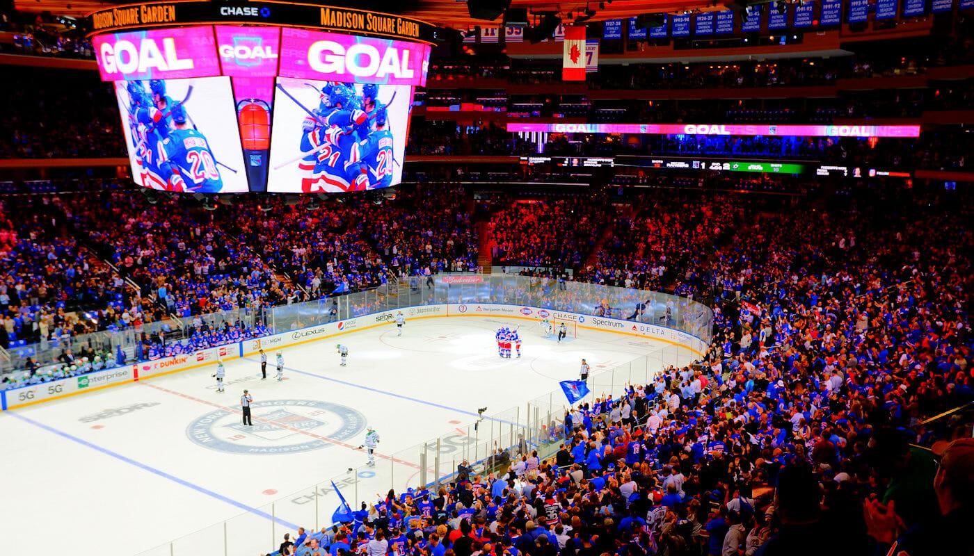NHL ishockey i New York