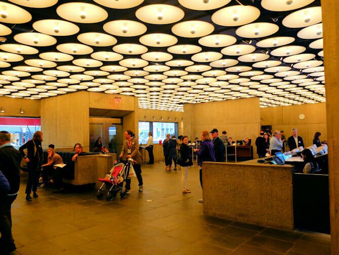 The Met Breuer i New York - Inngang