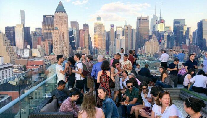 Rooftop Bar Tour in New York Manhattan