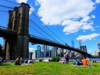De beste utsiktene i New York - Brooklyn Bridge Park