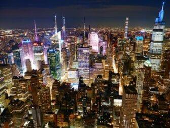 De beste utsiktene i New York - Empire State Building