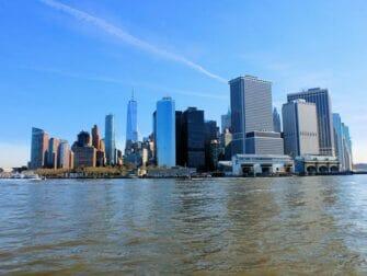 De beste utsiktene i New York - Staten Island Ferry