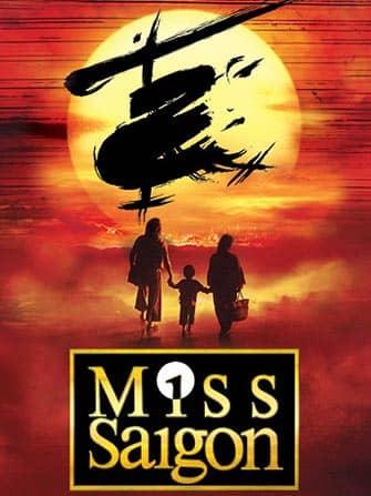 Miss Saigon Broadway tickets - Poster