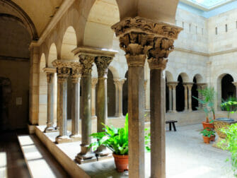 The Met Cloisters i New York - Arkitektur
