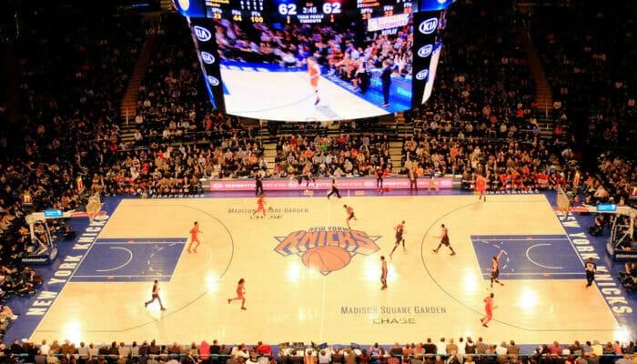 NBA-basketball i New York