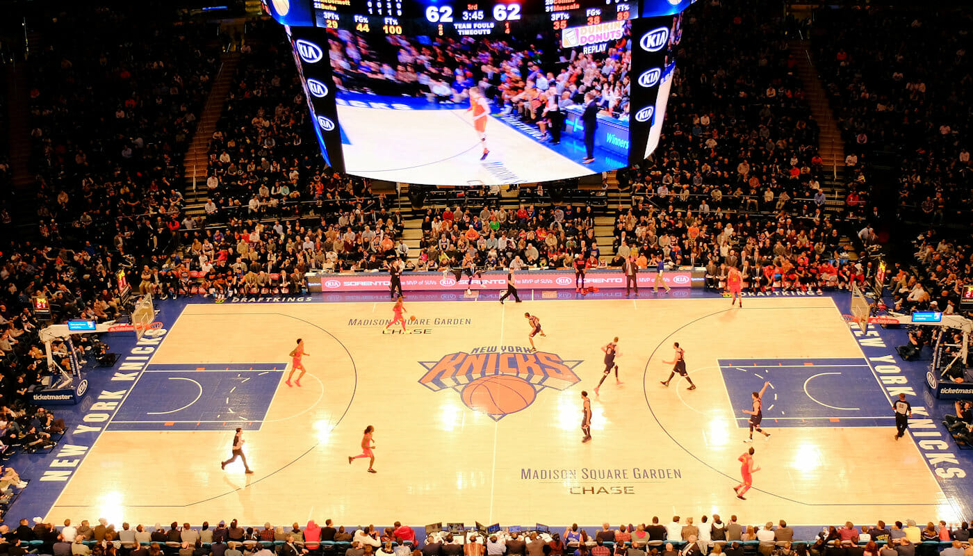 NBA-basketball i New York
