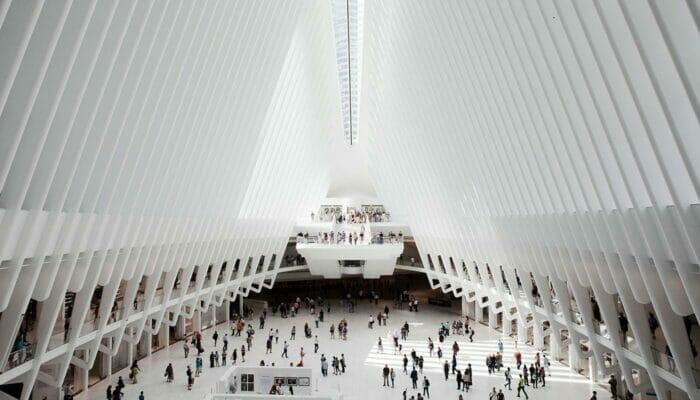World Trade Center Transportation Hub Innvendig