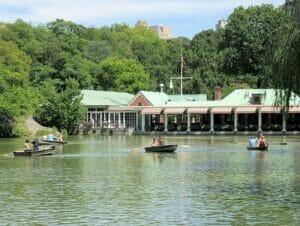 Leie robåt i Central Park