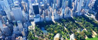 Helikoptertur uten dører i New York