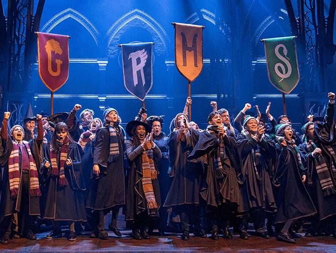 Harry Potter and the Cursed Child Broadway Tickets - På Hogwarts/Galtvort