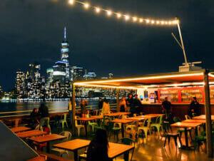 Cruise med middag på Hudson-elven i New York