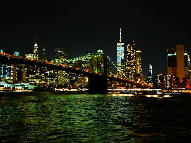 Cruise med middag på Hudson-elven i New York - Skyline
