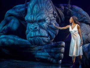 Musikalen King Kong the Musical Broadway Tickets - King Kong og Ann