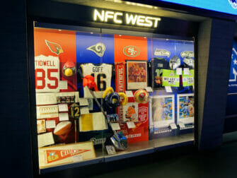 NFL Experience Times Square - Opplevelsen