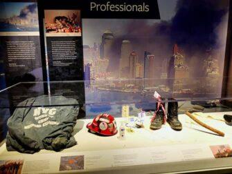 911 Tribute Museum i New York - Gjenstander