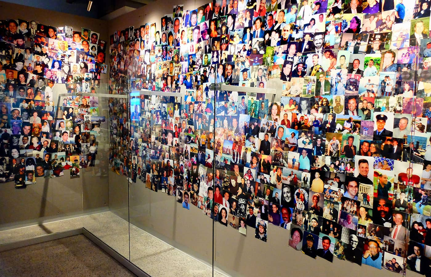 911 Tribute Museum in New York - Bildevegg