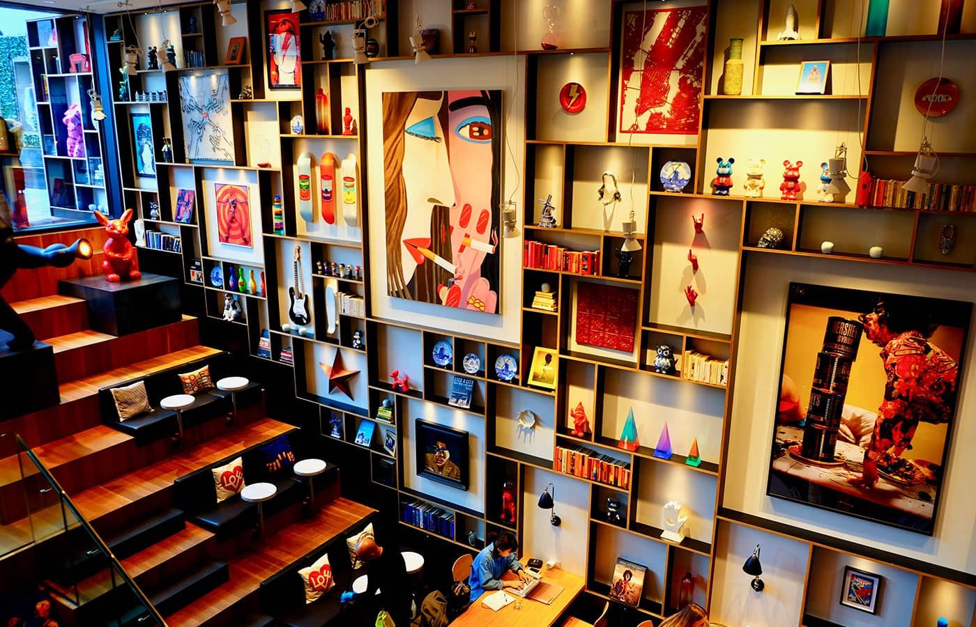 citizenM New York Bowery Hotel - Kunst