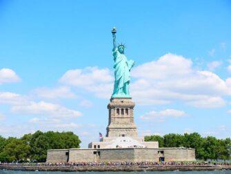 Forskjellen mellom New York Sightseeing Flex Pass og New York Explorer Pass - Frihetsgudinnen